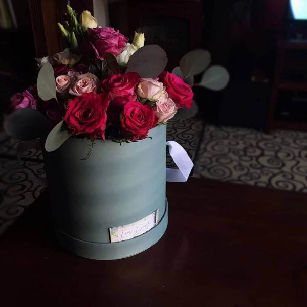 valentines day hat box