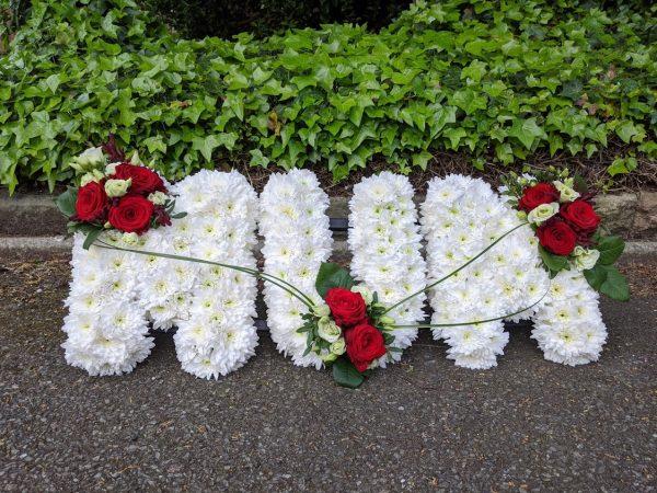 Mum funeral flowers