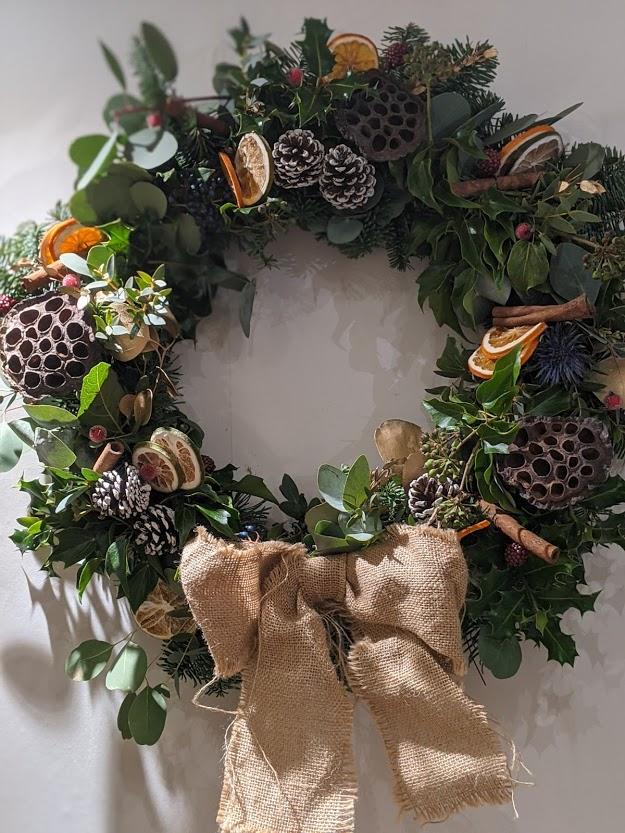Luxe wreath